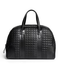 Neil Barrett Buenos Aires Quilt Leather Weekend Bag - Lyst