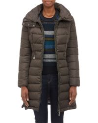 Moncler Downquilted Flamme Coat - Lyst