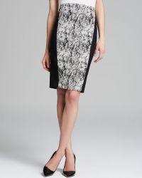 Rachel Roy - Cracked Jacquard Pencil Skirt - Lyst