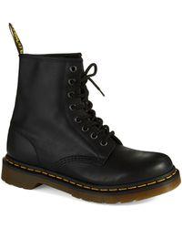Dr. Martens Nappa Combat Boots - Lyst