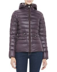 DKNY Packable Puffer Jacket with Hood - Lyst