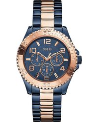 Guess - W0231l6 Stainless Steel Watch - Lyst
