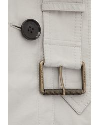 Burberry Brit Cottonblend Trench Coat - Lyst
