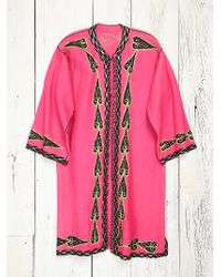 Free People Womens Vintage Pink Felt Co - Lyst
