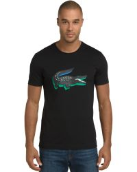 Lacoste 3d Rubber Crocodile Graphic T-Shirt - Lyst