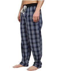 Kenneth Cole Reaction Lounge Pants blue - Lyst