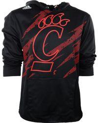 Adidas Mens Cincinnati Bearcats Aftershock Pu Hoodie - Lyst