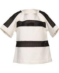 Thakoon Addition White Tshirt - Lyst