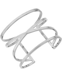 Vince Camuto - Double V Cuff Bracelet - Lyst