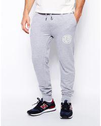 Bellfield Sweat Pants with Print - Lyst
