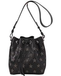 Saint Laurent Large Emmanuelle Studded Leather Bag - Lyst