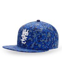 Wesc Overlay Snapback Cap blue - Lyst