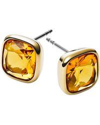 Michael Kors Rhinestone Stud Earrings - Lyst