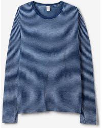 Save Khaki Long Sleeve Striped Tee - Lyst