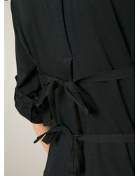 Ann Demeulemeester Blanche | Rear Central Vent Sweater | Lyst
