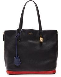 Alexander McQueen Padlock Small Shopper Bag Multicolor - Lyst