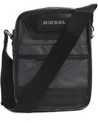 Diesel New Fellow Grey Shoulder Bag - Lyst
