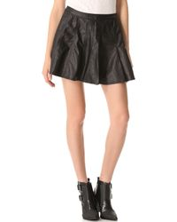 Townsen - Faux Leather Skirt - Lyst