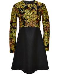 Giambattista Valli Jacquard Top Shift Dress - Lyst