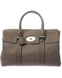 Mulberry Oversized Bayswater Leather Weekend Bag - Lyst