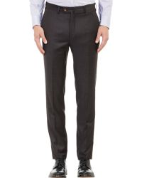Valentini - Worsted Wool Plaid Trousers - Lyst