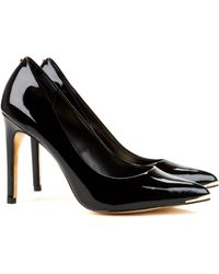Ted Baker Patent Pointed Court Shoes - Lyst