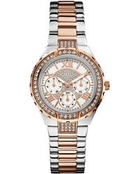 Guess - W0111l4 Viva Two-toned Watch - Lyst