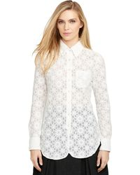 Brooks Brothers Floral Shirt - Lyst