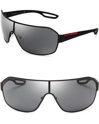 Prada Shield Sunglasses - Lyst