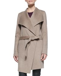 Joseph Lisa Long Belted Robe Coat - Lyst