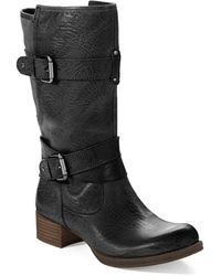 Naya - Silence Midcalf Buckle Boots - Lyst