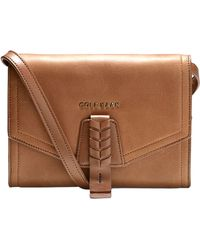 Cole Haan Felicity Leather Crossbody Bag - Lyst