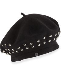 Marc By Marc Jacobs - Number 1 Studded Beret Hat - Lyst