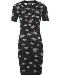 McQ by Alexander McQueen Beetle Dress - Lyst