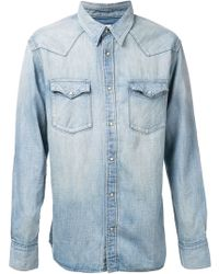 Visvim Albacore Damaged Shirt - Lyst