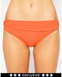 Asos Fuller Bust Exclusive Marilyn Bikini Bottom - Lyst