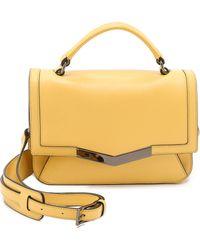 Time's Arrow - Micro Helene Cross Body Bag - Yellow - Lyst