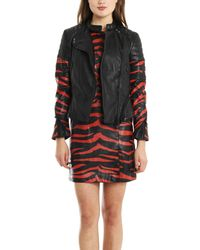 3.1 Phillip Lim Peplum Motorcycle Jacket with Quilting - Lyst