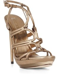 BCBGMAXAZRIA Farrow Highheel Strappy Dress Sandal - Lyst