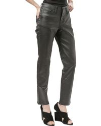 Troa Relaxed Baxter Pant Waxed Black - Lyst