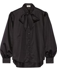 Temperley London Louise Cotton Shirt - Lyst