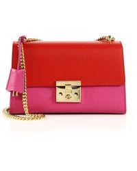 Gucci | Padlock Medium Leather Shoulder Bag | Lyst