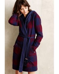 Anthropologie | Flannel Sherpa Robe | Lyst