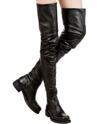 Strategia 40Mm Stretch Faux Leather Boots - Lyst
