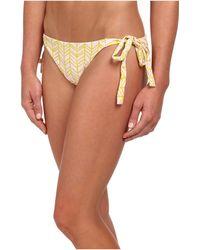 Tori Praver Swimwear Masala Tie Side Bottom - Lyst