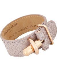 Balenciaga Tube Bracelet - Lyst