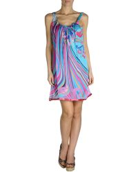 Miss Naory Cover-Up blue - Lyst