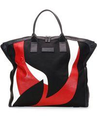 Alexander McQueen Men'S Large Combo De-Manta Tote Bag - Lyst