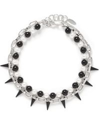 Joomi Lim - Spike Pearl Double Strand Necklace - Lyst