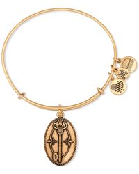 ALEX AND ANI - Key To Life Expandable Wire Bangle - Lyst
